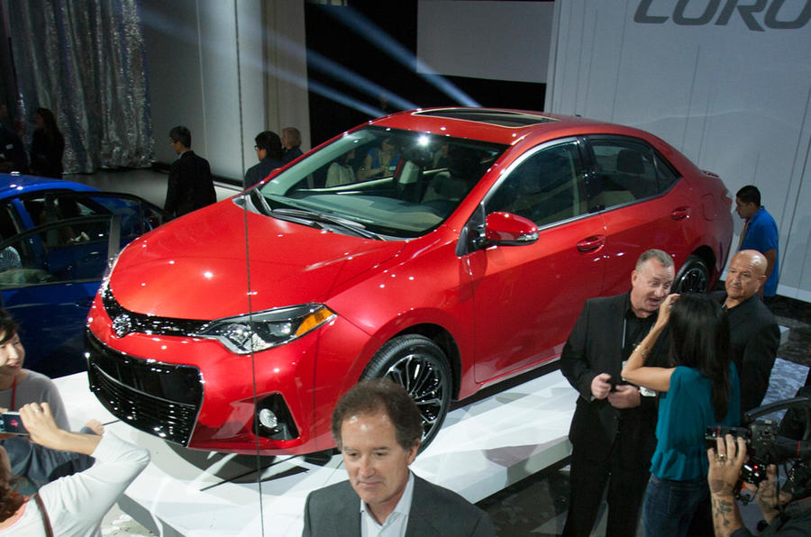 Restyled Toyota Corolla launches in US