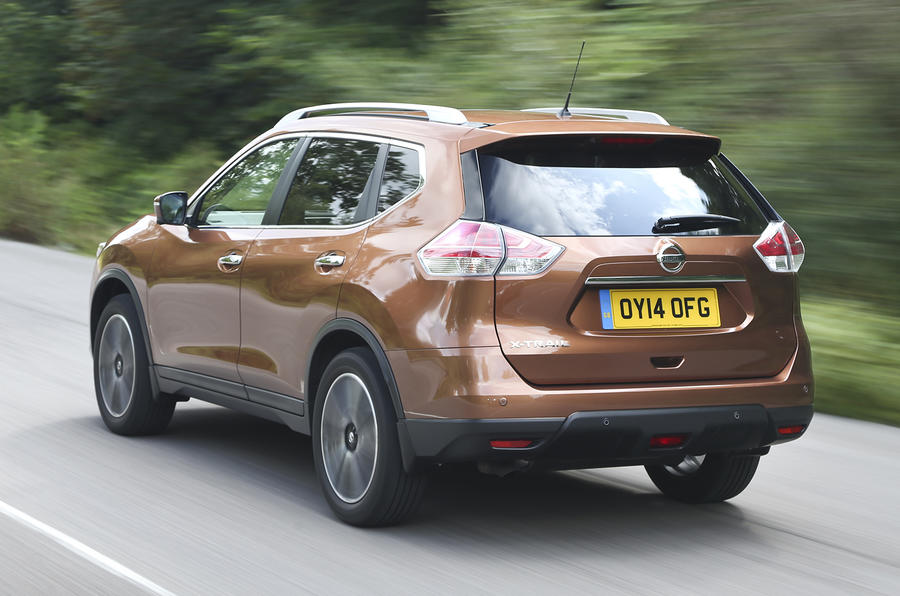 Nissan X-Trail rear quarter
