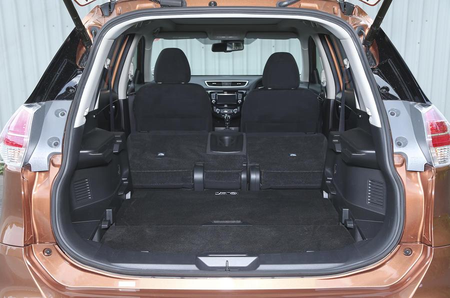 Nissan X-Trail seat flexibility