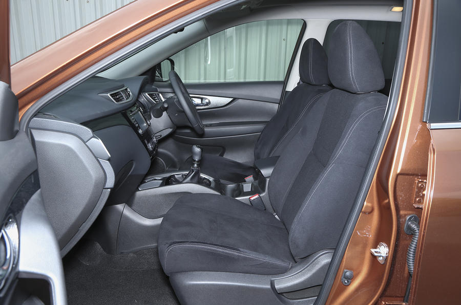 Nissan X-Trail interior