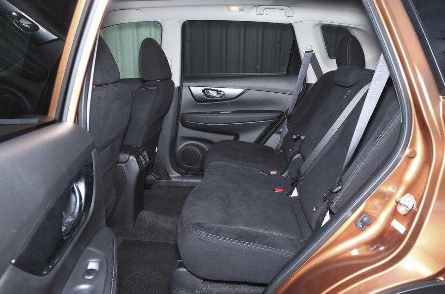 Nissan X-Trail rear seats