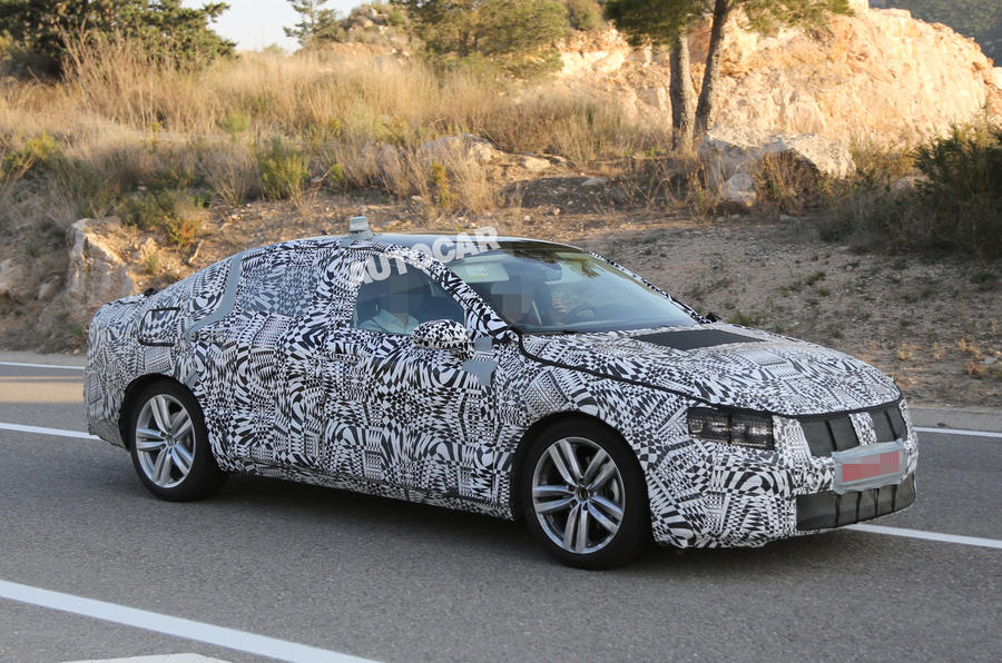All-new Volkswagen Passat nears public debut