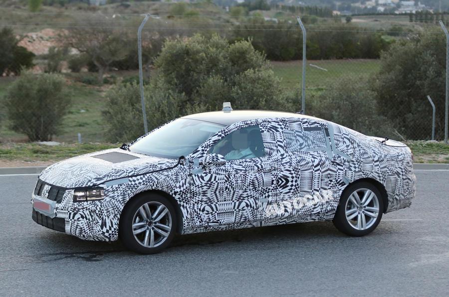 All-new Volkswagen Passat nears public debut