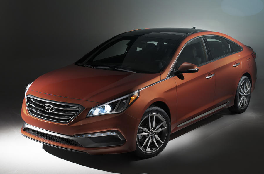 New Hyundai Sonata revealed in New York