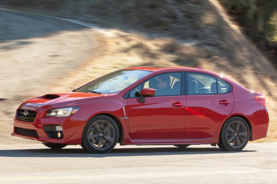 Subaru WRX cornering