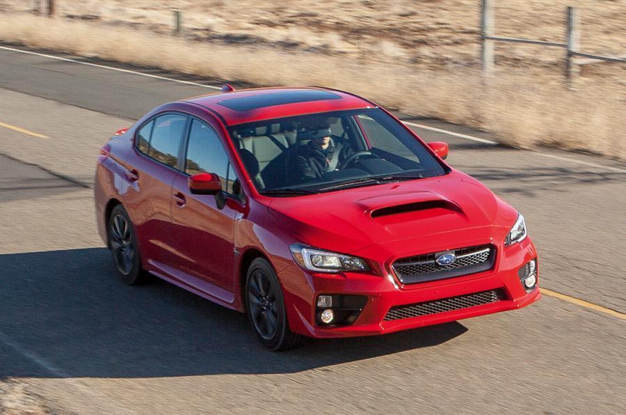 Subaru WRX front quarter