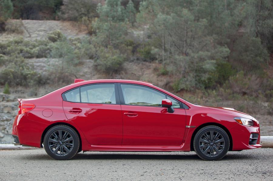Subaru WRX side profile