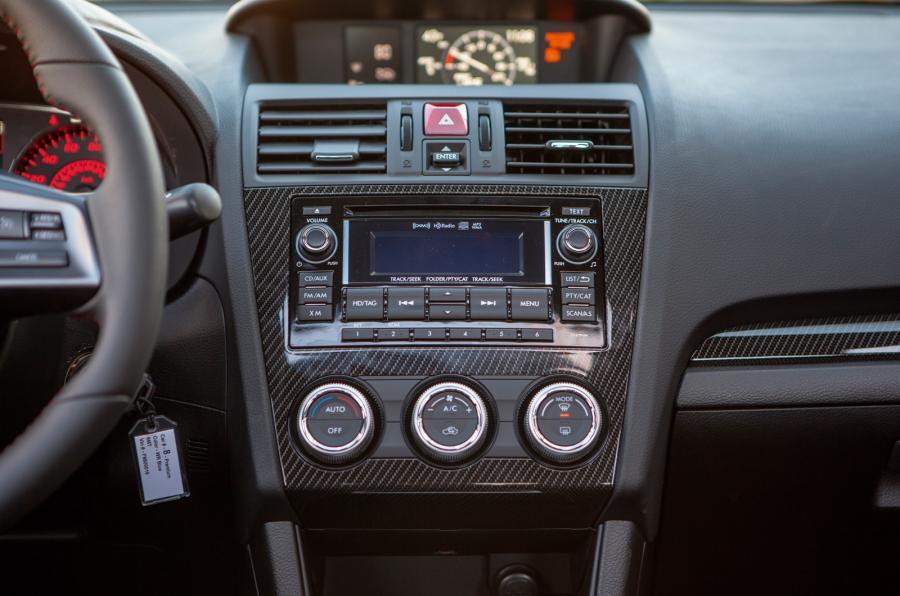 Subaru WRX centre console