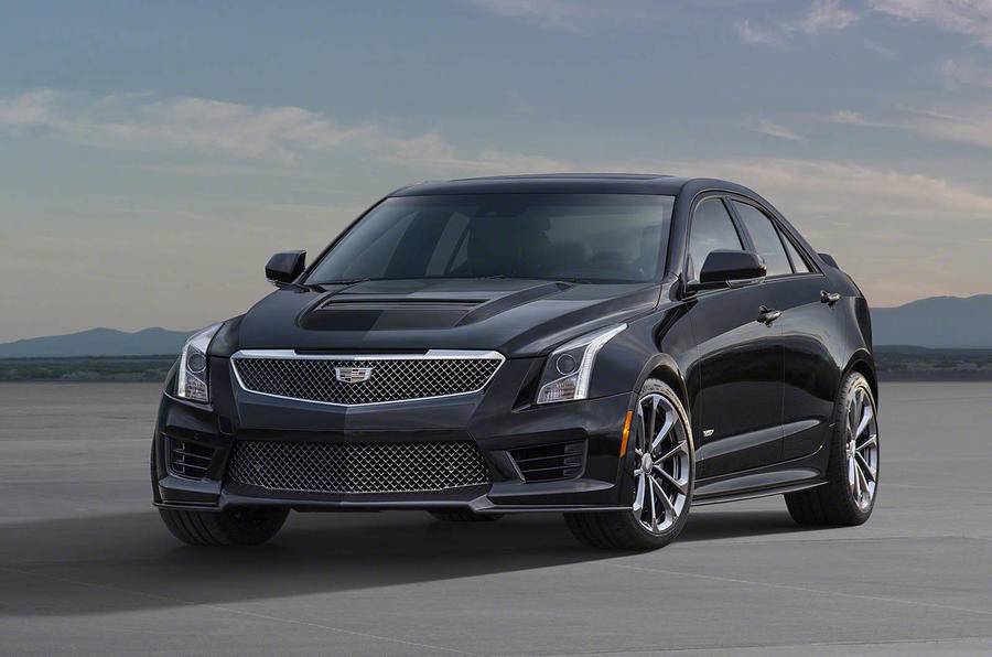 Sporty Cadillac ATS-V gets 455bhp twin-turbo V6 engine