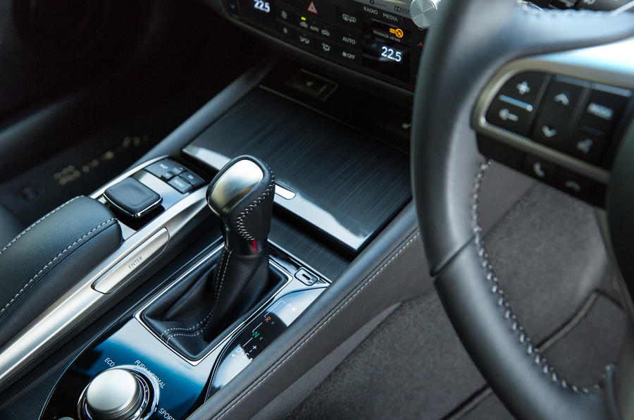Lexus GS automatic gearbox