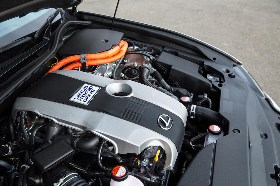 Lexus GS petrol hybrid engine