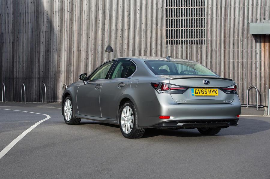 Lexus GS rear quarter