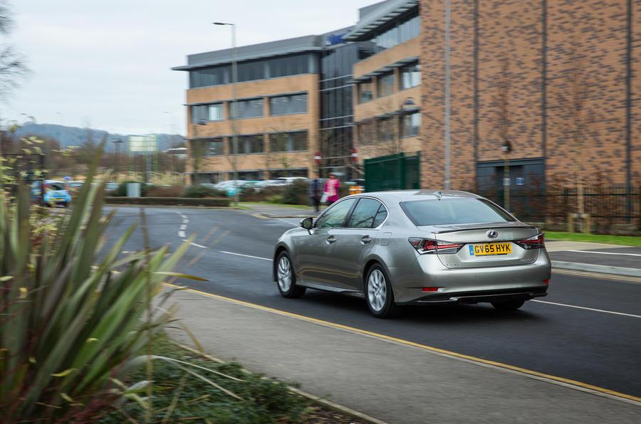 Lexus GS rear