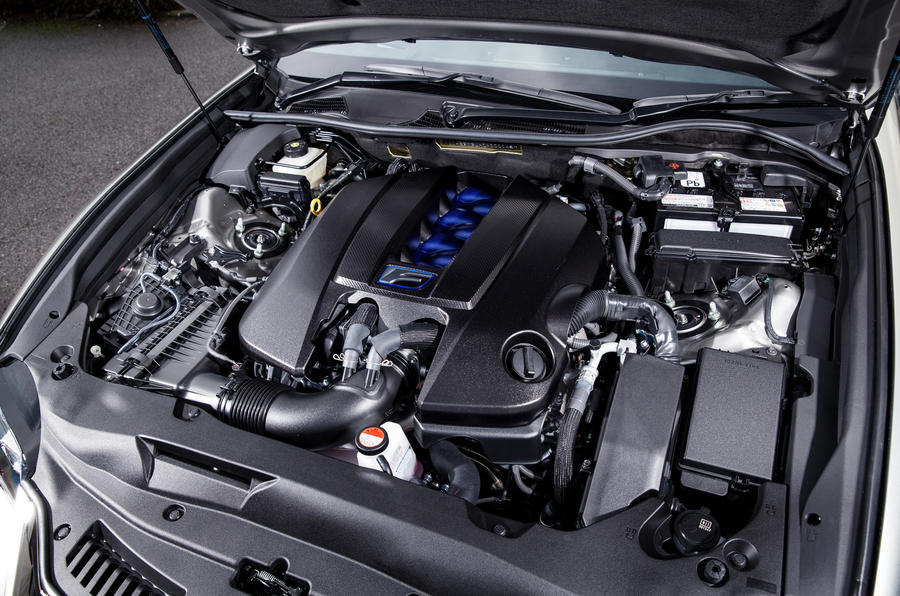 5.0-litre V8 Lexus GS F engine