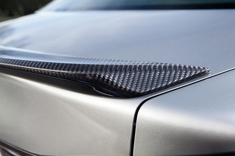 Lexus GS F rear spoiler