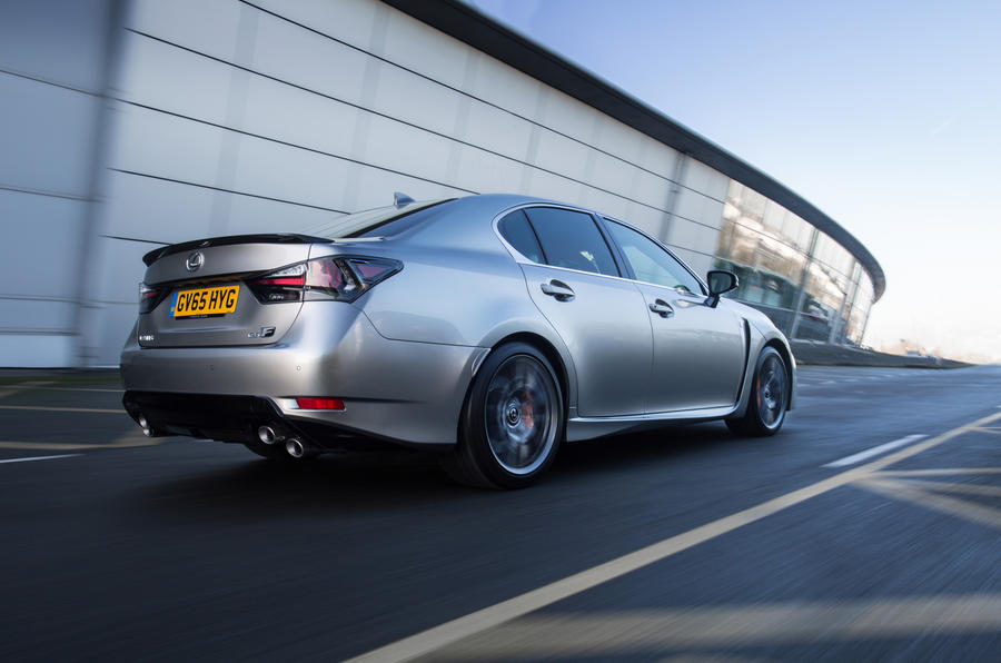 Lexus GS F rear