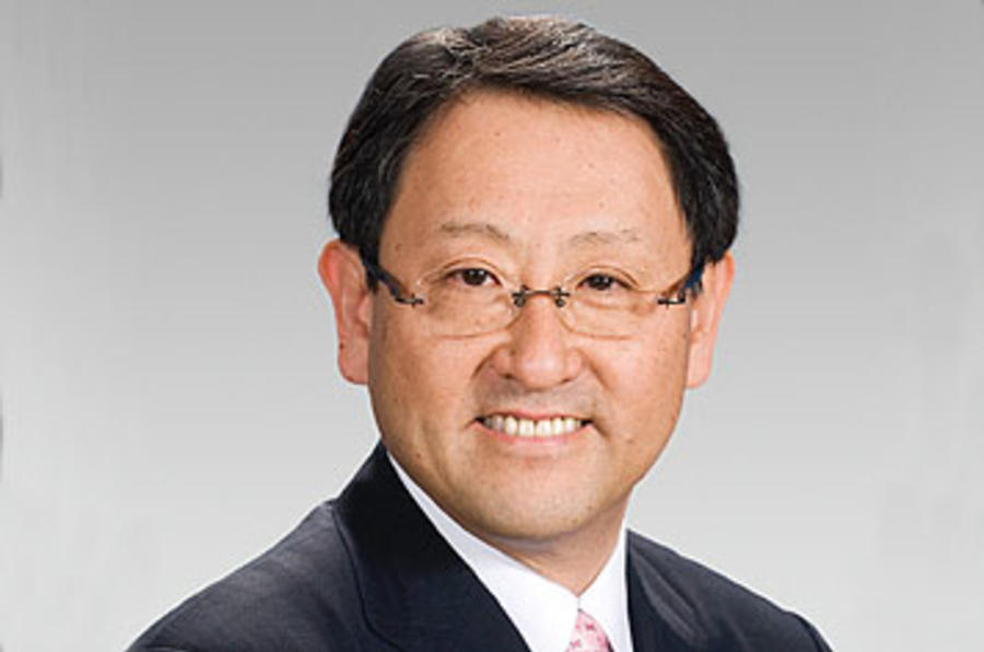 Toyota boss told: 'Stop weeping'