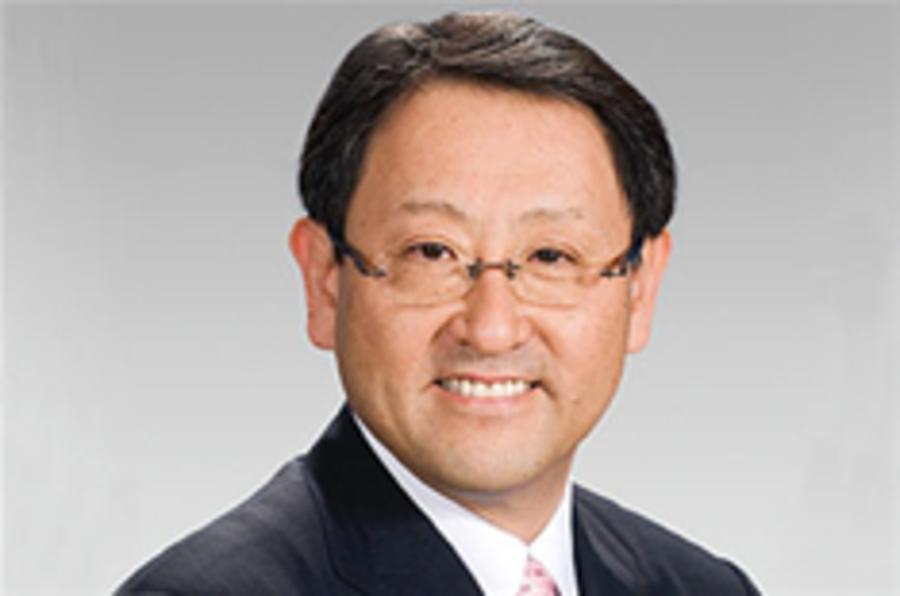 Toyota boss: 'Tough times ahead'