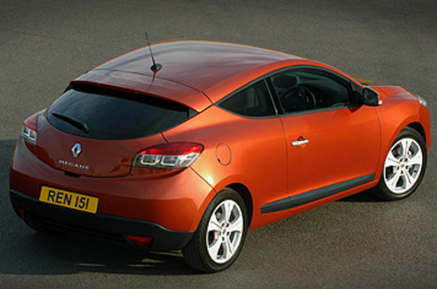 renault megane coupe 2 0 tce review autocar. Black Bedroom Furniture Sets. Home Design Ideas