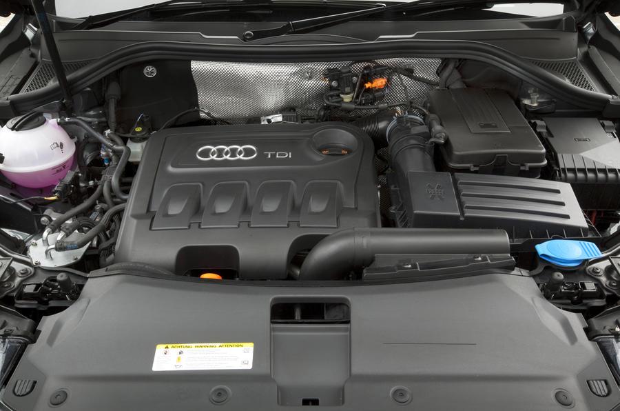 2.0-litre TDI Audi Q3 engine