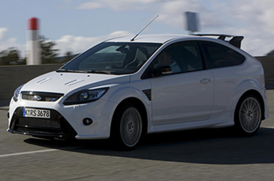Ford Focus RS Mk2 side profile