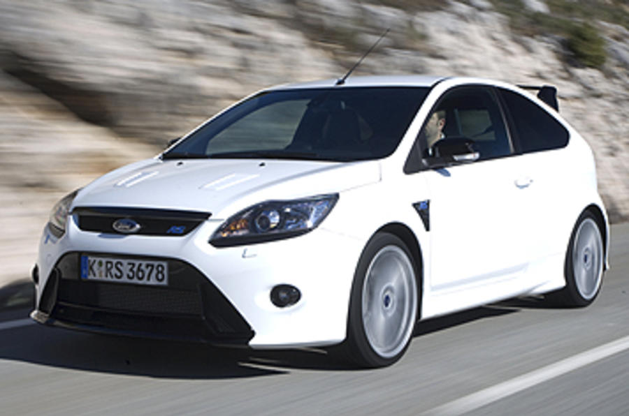 Ford Focus RS on road