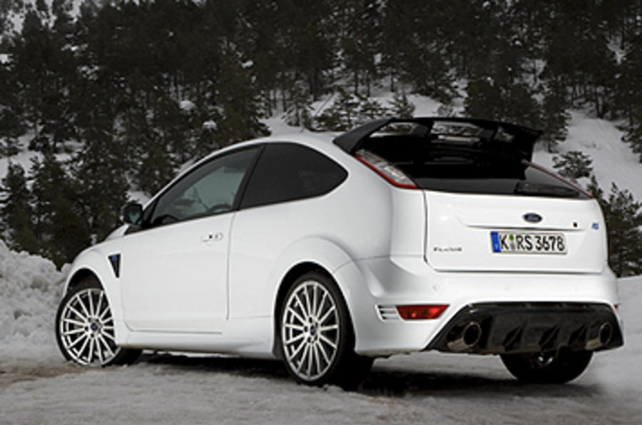 Ford Focus RS rear end