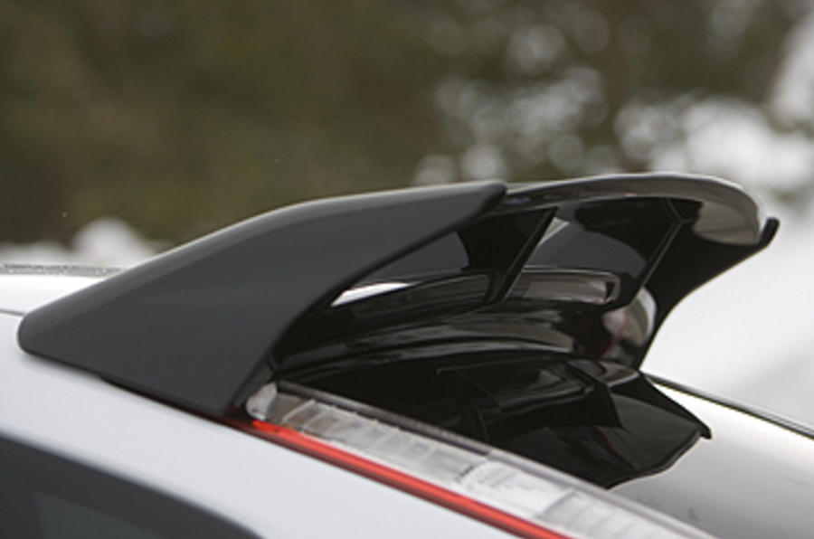 Ford Focus RS Mk2 roof spoiler
