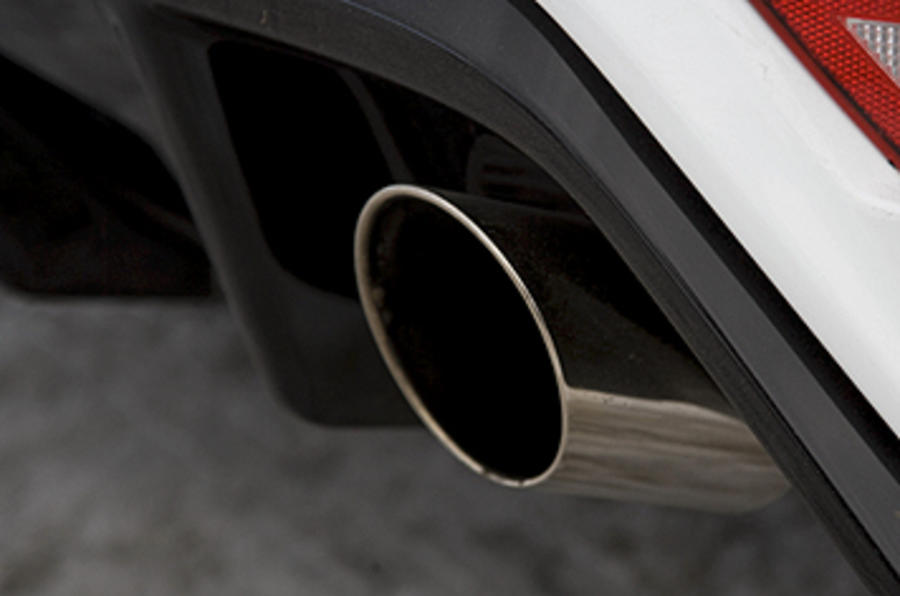 Ford Focus RS Mk2 dual exhaust