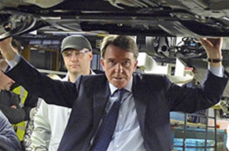 Mandelson's Vauxhall rescue bid