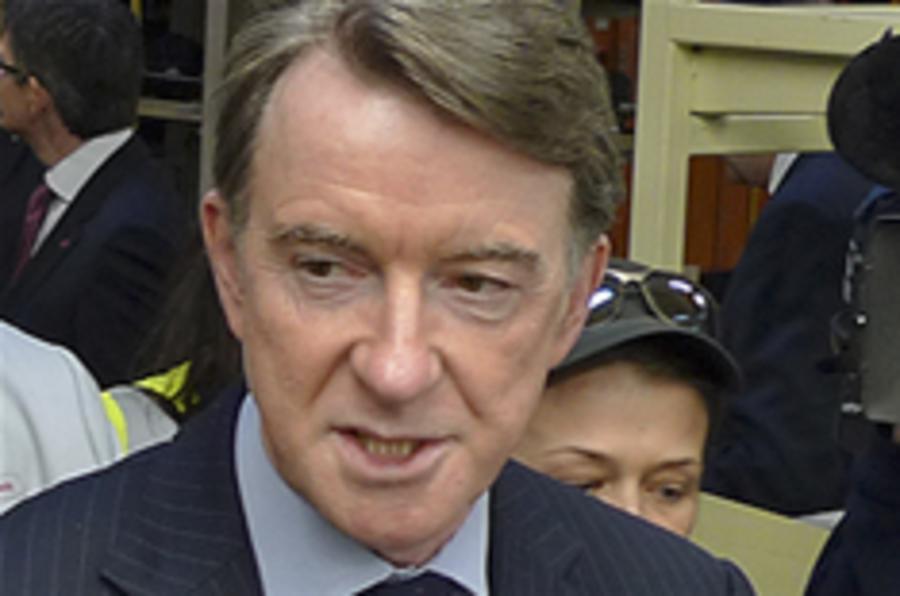 Mandelson's Vauxhall pledge