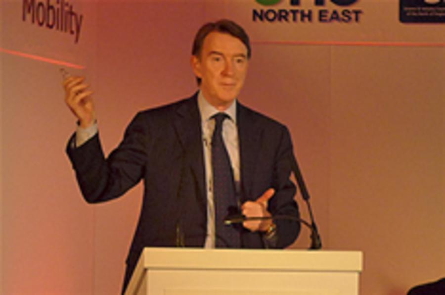 Mandelson backs low-carbon tech