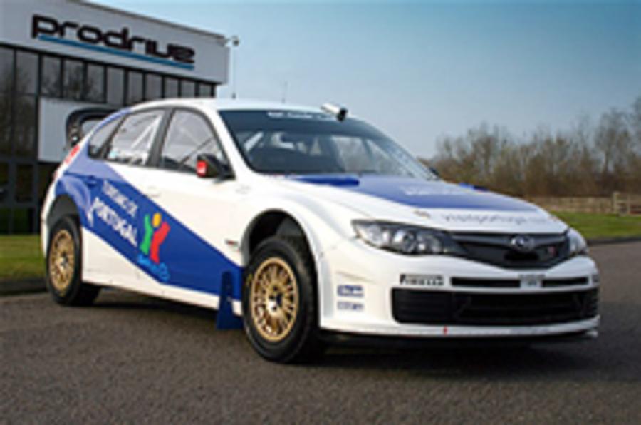 Gronholm's Subaru Impreza WRC