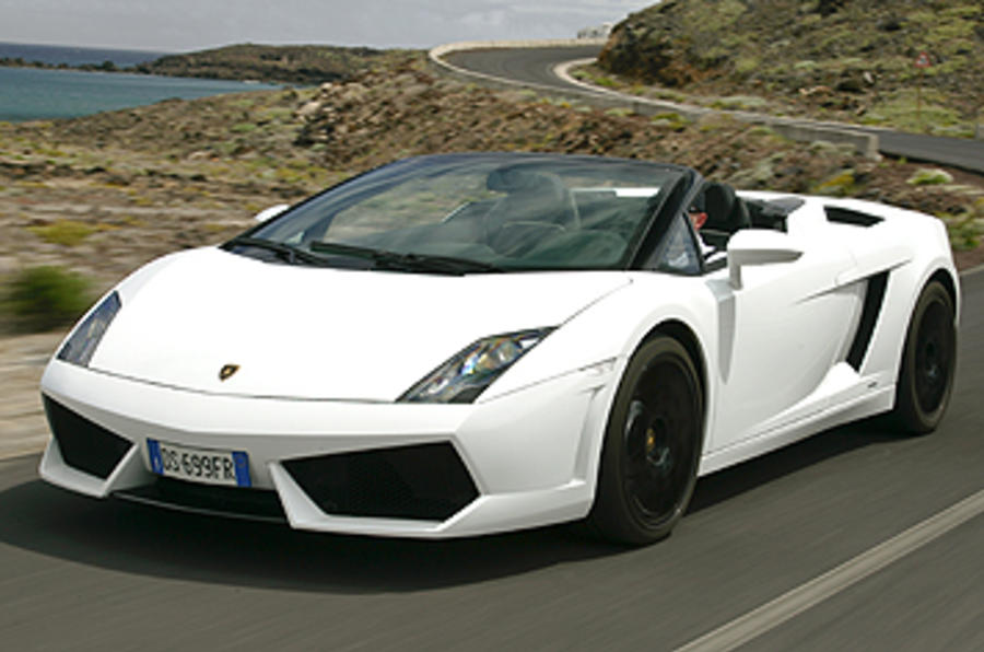 Good ... Lamborghini Gallardo Spyder ...