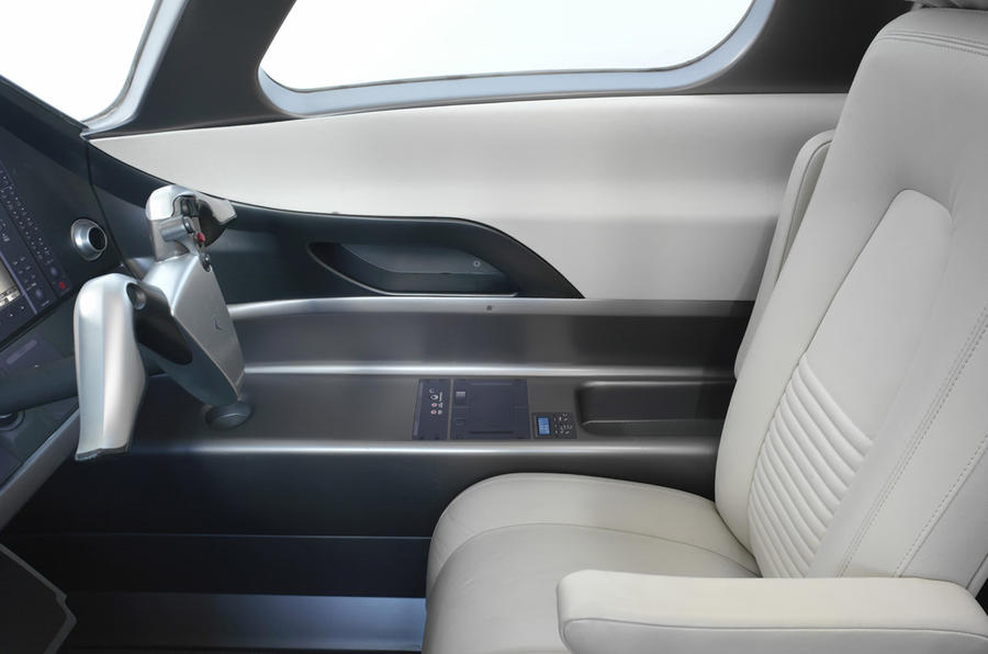 BMW designs aeroplane interiors