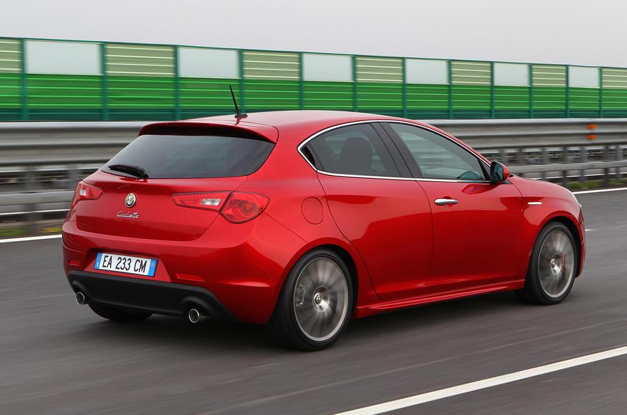 Alfa Romeo Giulietta rear