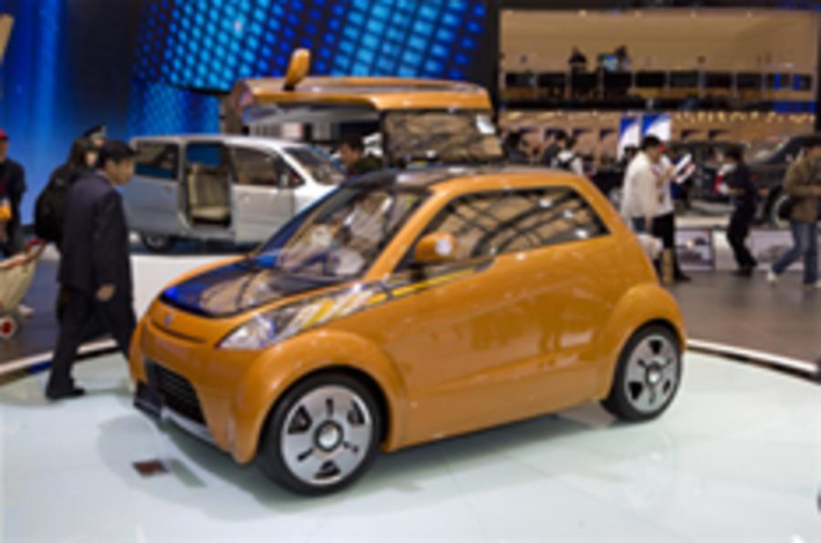 Geely's £1000 plug-in city car