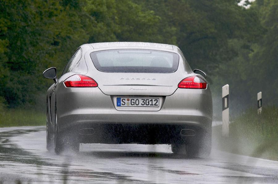 Porsche Panamera 4 rear