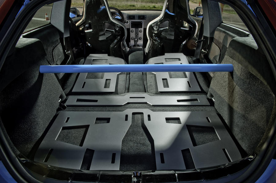 Volvo C30 Polestar Concept rear space