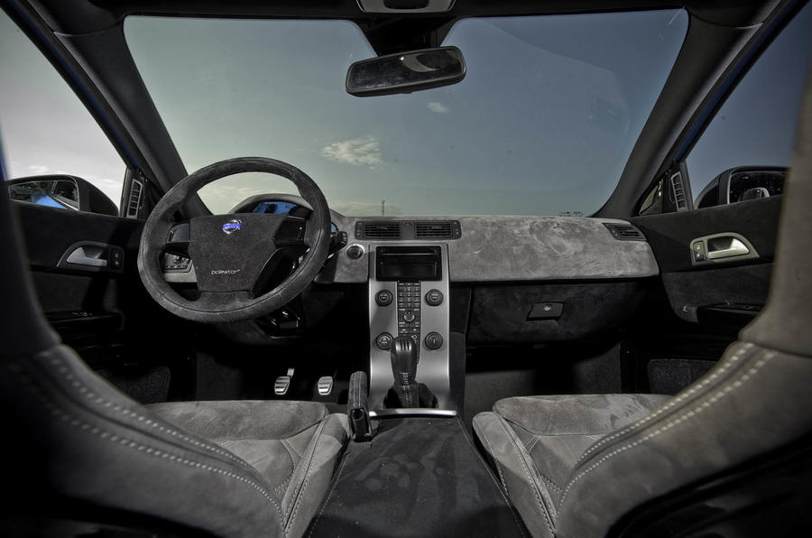 Volvo C30 Polestar Concept dashboard