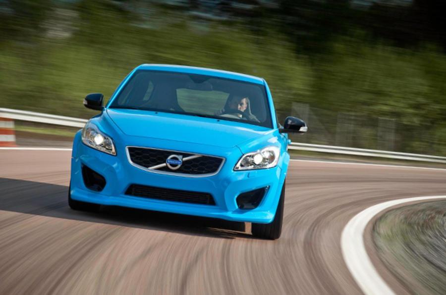 Volvo C30 Polestar Concept cornering