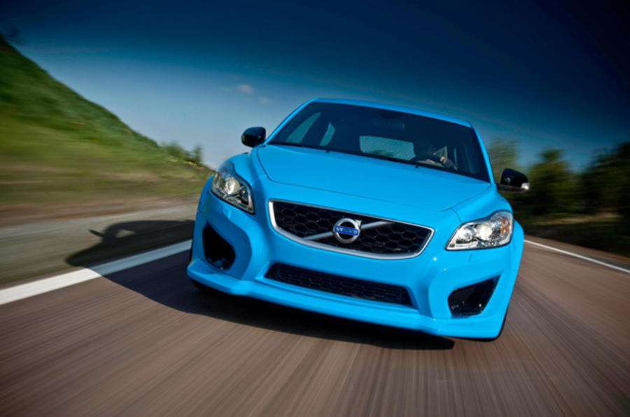 Volvo C30 Polestar Concept front end