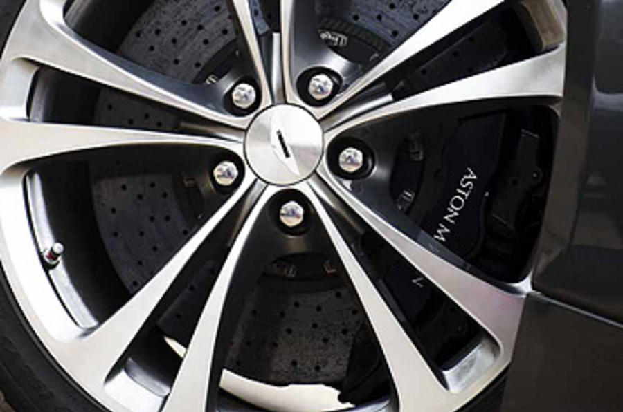 Aston Martin Vantage alloy wheels