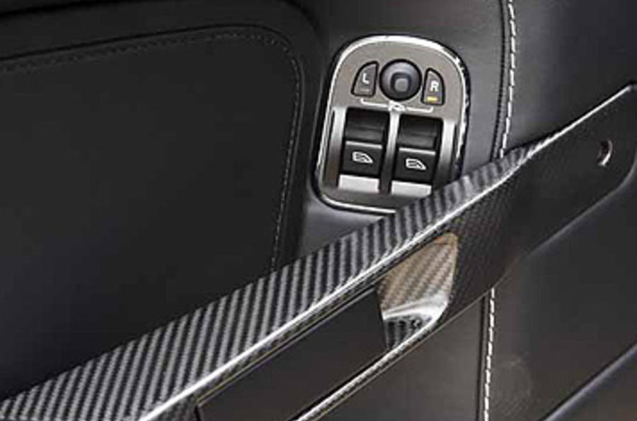 Aston Martin Vantage door cards