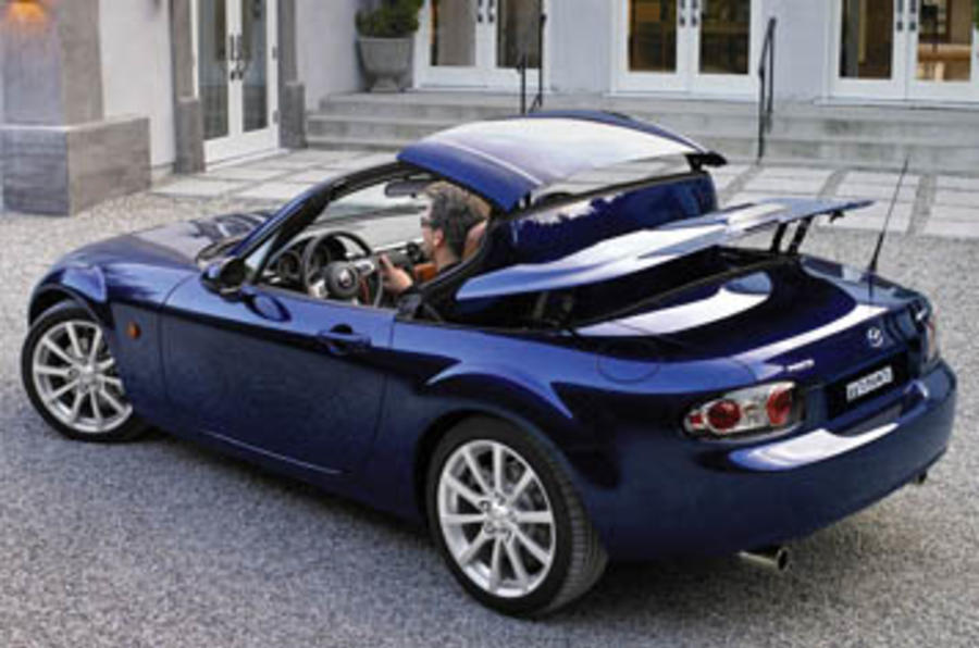 mazda mx 5 rc review autocar. Black Bedroom Furniture Sets. Home Design Ideas