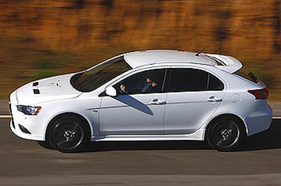 Lancer Sportback Ralliart review | Autocar