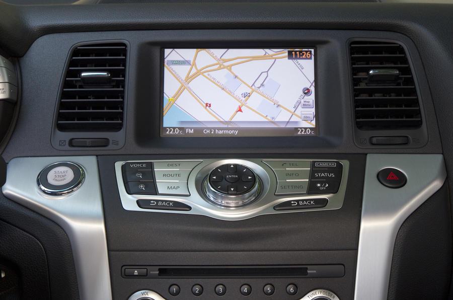 Nissan Murano infotainment