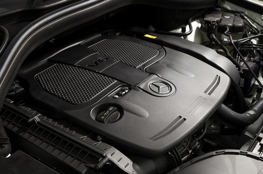 3.0-litre V6 Mercedes-Benz ML 350 engine