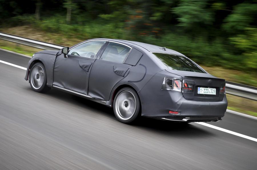 Lexus GS 250 rear