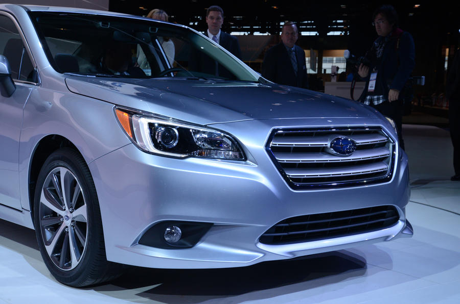 No UK launch for new Subaru Legacy saloon